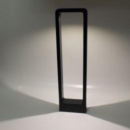Уличный светильник столбик JH-BD-B16 DHL36 (220V, 7W, черный корпус, 600mm, IP65, warm white)