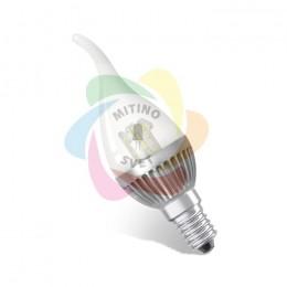 Светодиодная лампа «Estares» E14 220V CDW-4.5W WarmWhite (MS)