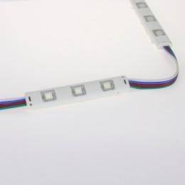 Светодиодный модуль линейный 5050-3 MOD45 (0,72W, 12V, RGB)