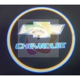 Проекция логотипа CHEVROLET