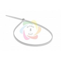 Хомут nylon 5.0 х 400 мм белый REXANT (упаковка 100шт)