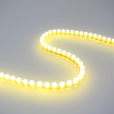 Светодиодная DIP лента бокового свечения IP67 Теплый Белый