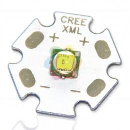 Мощный светодиод XM-L star 10W 3,2V WarmWhite