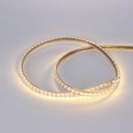Светодиодная лента 220V 3014 120led warm white IP68
