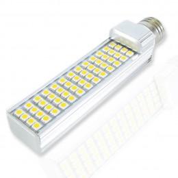 Светодиодная лампа E27 semi corn (52Led, 11W, 220V, Warm White)