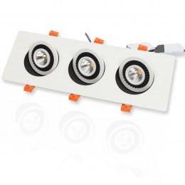 Светодиодный светильник JH-704B-3*7W B785 (21W, WarmWhite)