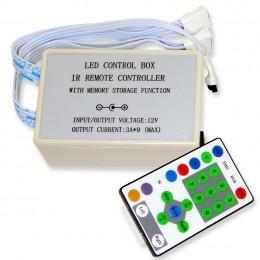Контроллер RGB IR 6 canal 12V, 324W