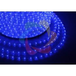Дюралайт светодиодный 220В, диаметр 11 мм, бухта 100м Blue