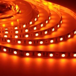 Светодиодная лента LUX class, 5050, 60led/m, Orange, 12V, IP33