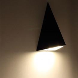 Светодиодный светильник JH-BD07 DHL20 (220V, 9W, черный корпус, warm white)