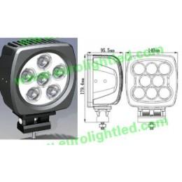 Прожектор 60W (ETW02) White