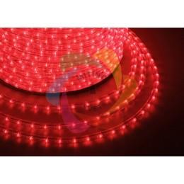 Дюралайт светодиодный 220В, диаметр 11 мм, бухта 100м Red