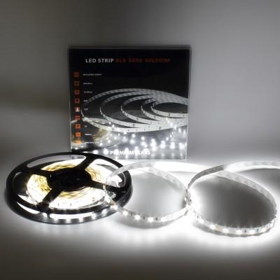 LED Лента 5050 60 Led IP33 24V White Premium класс