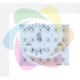 Алюминиевая плата PCB elitpcb BK-724-124 (112x135 XP 12S+12S)