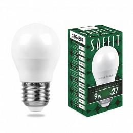 Лампа светодиодная, 9W 230V E27 2700K