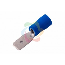 КЛЕММА ПЛОСКАЯ изолированная (КПИ штекер - 4.8мм) 1.5-2.5мм? (VM2-187(8))