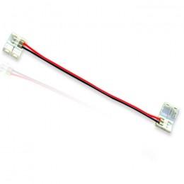 Коннектор соединительный 8mm MONO с проводами